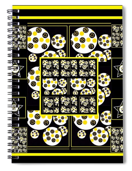 Bees Traveling Beyond Us Overlapping Spiral Notebook