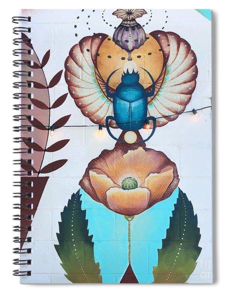 Beetleflower Spiral Notebook