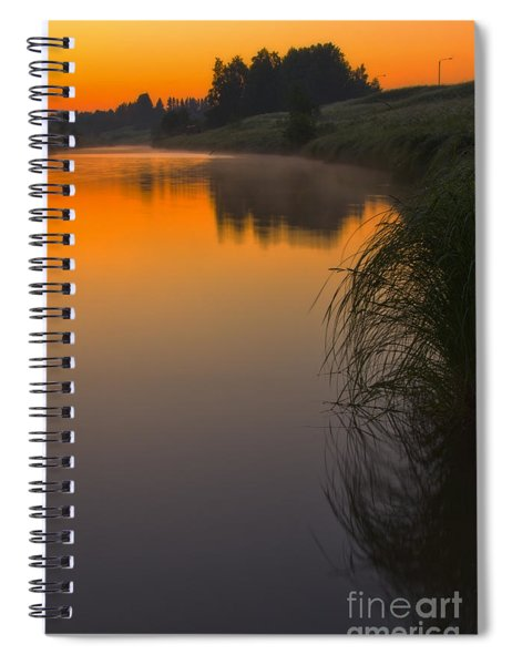 Before Sunrise On The River Spiral Notebook