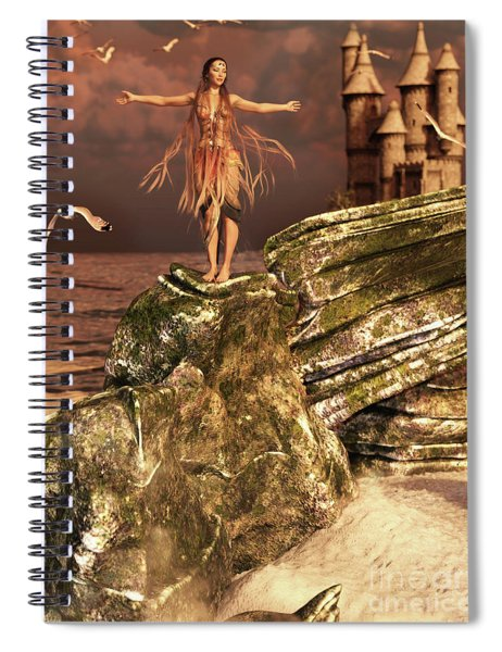 Before The Sun Sets Spiral Notebook
