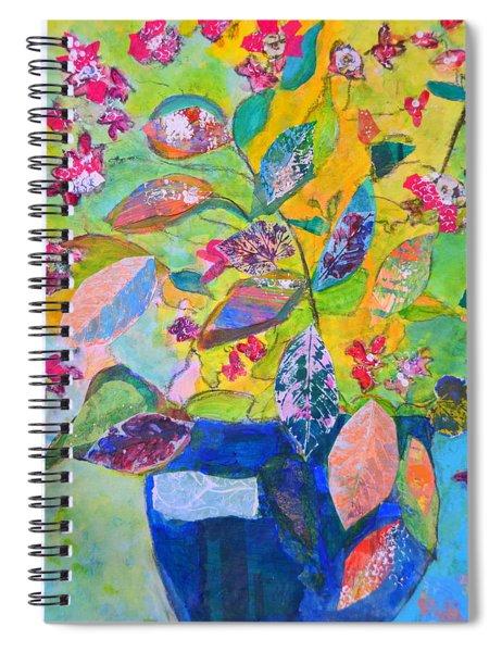 Begonias Spiral Notebook