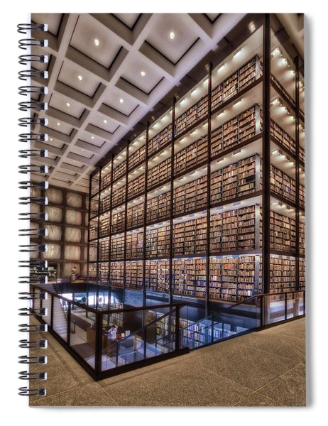 Beinecke Rare Book And Manuscript Library Spiral Notebook