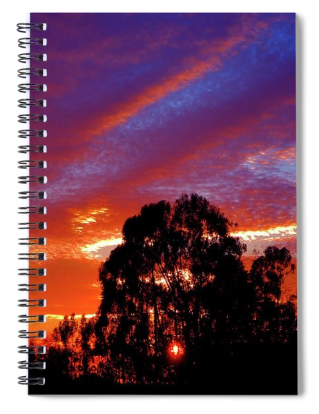 Being There Spiral Notebook