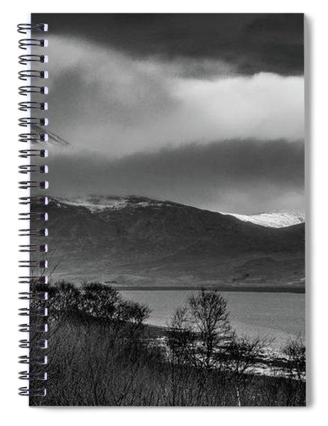Beinn Na Cro And Loch Slapin, Isle Of Skye Spiral Notebook