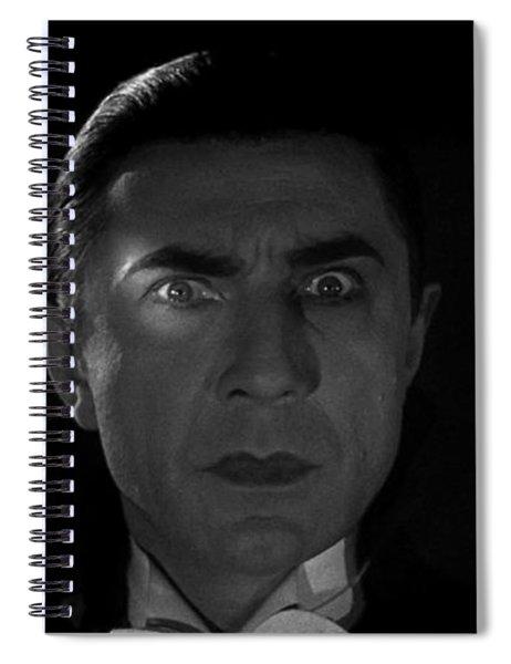 Bela Lugosi  Dracula 1931 And His Piercing Eyes Spiral Notebook