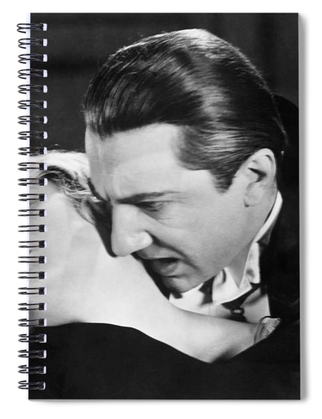 Bela Lugosi  Dracula 1931  Feast On Mina Helen Chandler Spiral Notebook