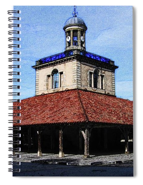 Belfry Of Revel City Spiral Notebook
