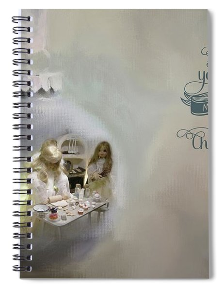 Believe In The Magic Of Christmas Spiral Notebook
