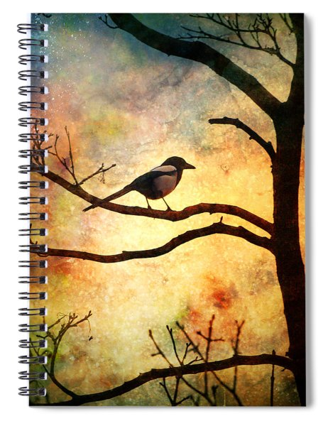 Believing In The Morning Spiral Notebook