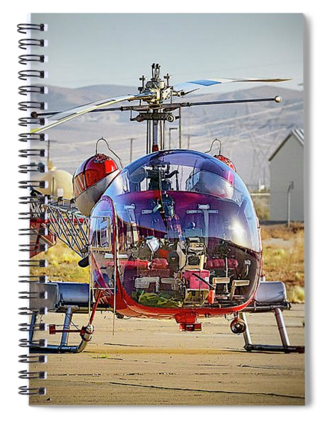 Bell 47 Spiral Notebook by Jim Thompson