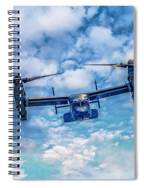 Bell Boeing V-22 Osprey  Spiral Notebook