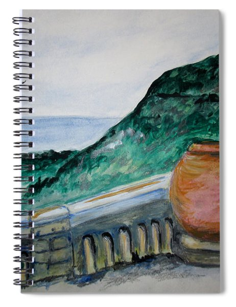 Bella Vista, Cumae Italy Spiral Notebook