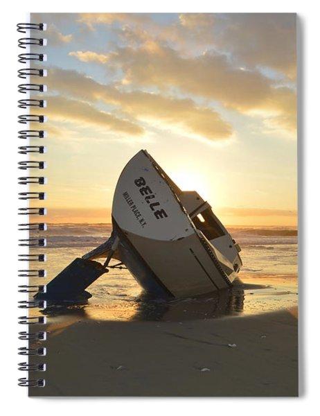 Belle At Sunrise Spiral Notebook