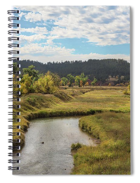 Belle Fourche River Spiral Notebook