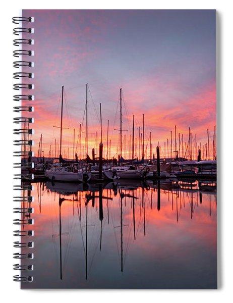 Bellingham Sunset Spiral Notebook