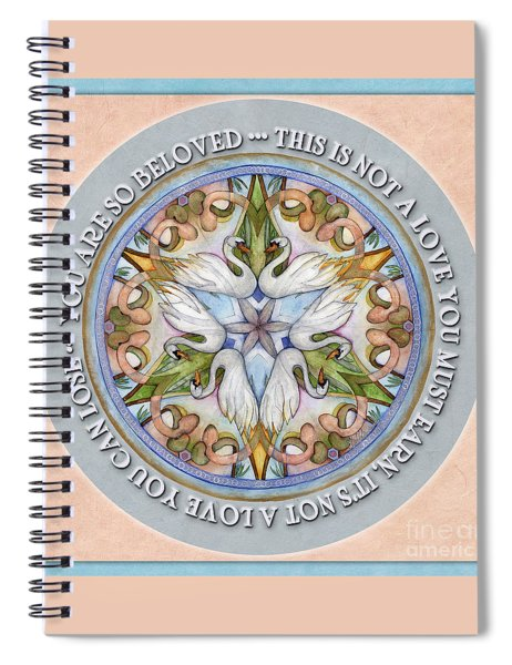 Beloved Mandala Prayer Spiral Notebook
