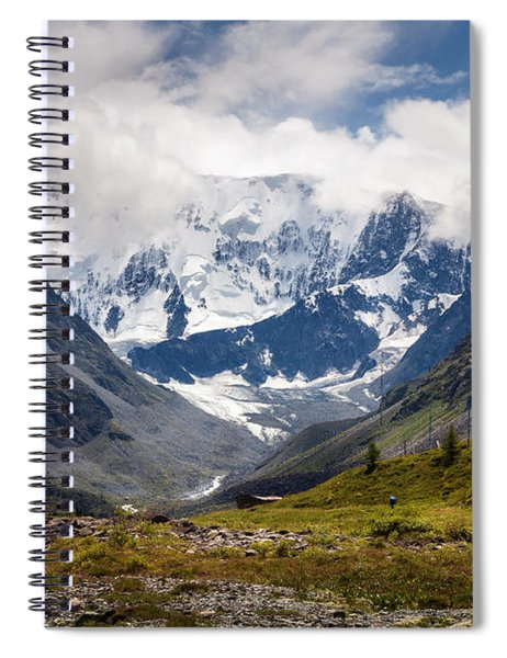 Belukha Mountain. Altay. Russia Spiral Notebook