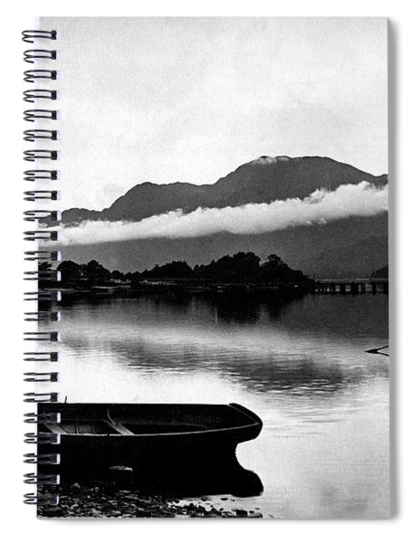 Ben Lomond From Luss Spiral Notebook