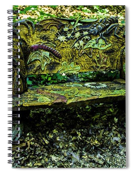 Bench Extraordinaire Spiral Notebook