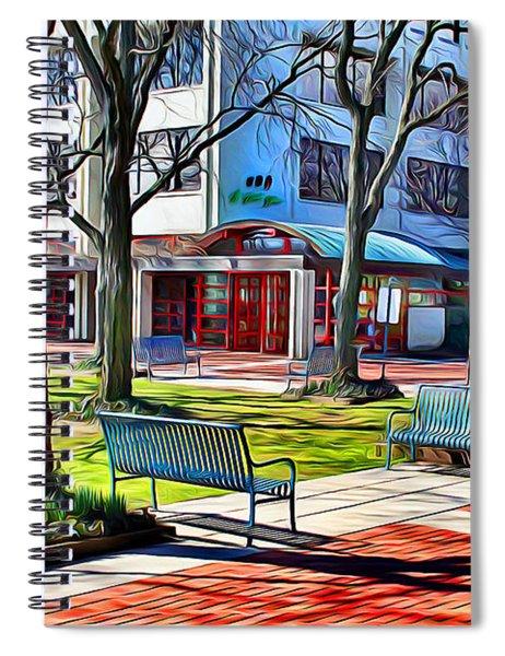 Benches Spiral Notebook