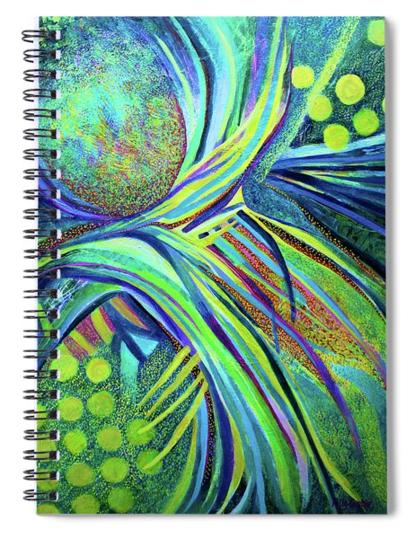 Beneath The Everlasting Arms Spiral Notebook