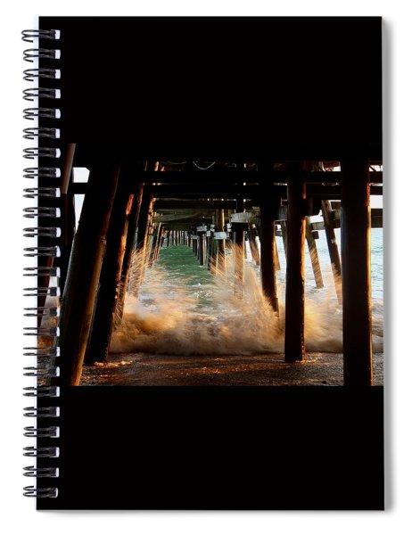 Beneath The Pier Spiral Notebook