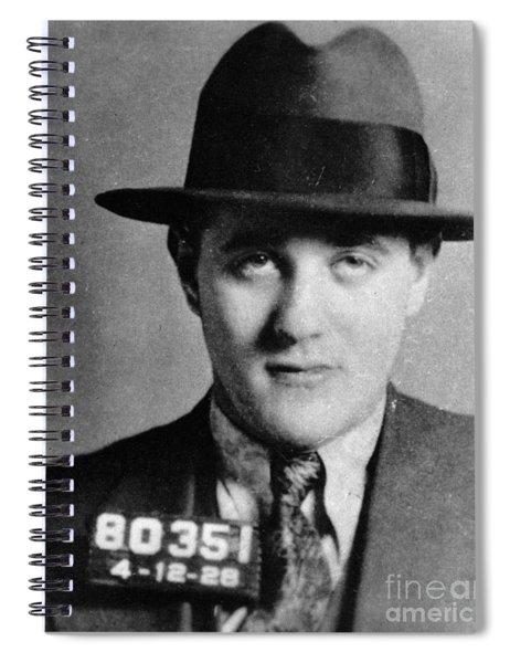 Benjamin Bugsy Siegel Spiral Notebook