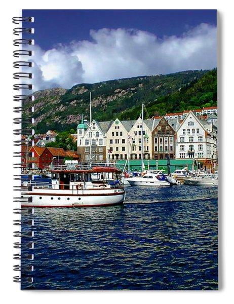 Bergen - Norway Spiral Notebook
