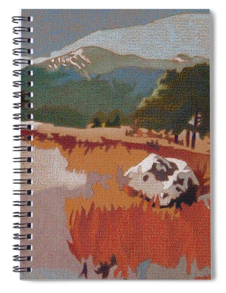 Bergen Peak First Snow Spiral Notebook