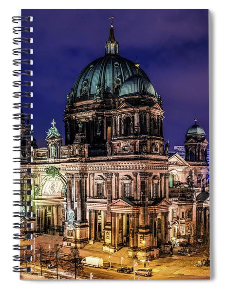 Berlin Cathedral Spiral Notebook