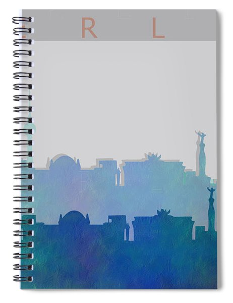 Berlin Shadow Spiral Notebook