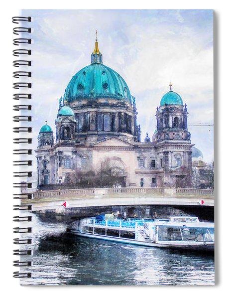Berliner Dom Spiral Notebook