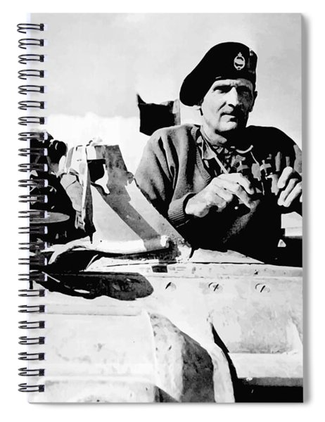 Bernard Law Montgomery Spiral Notebook