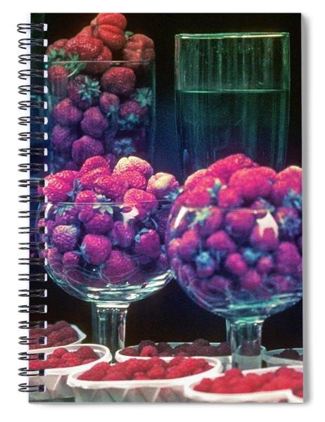 Berries In The Window Spiral Notebook