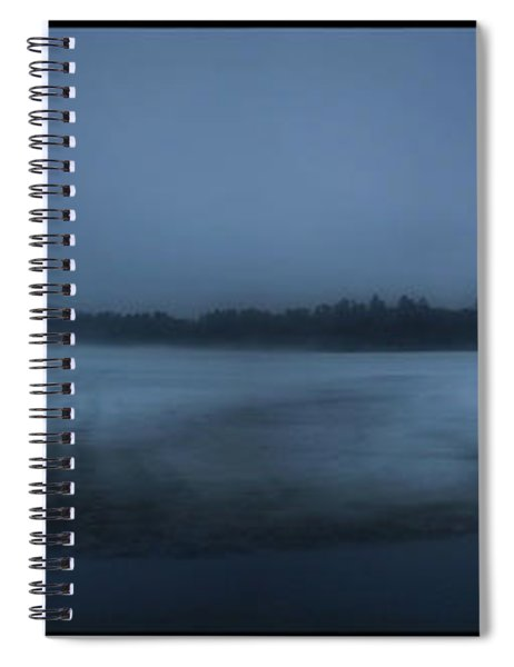 Berry Pond Twilight Spiral Notebook