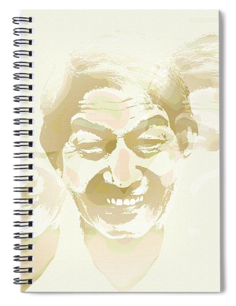 Beside Himself Spiral Notebook