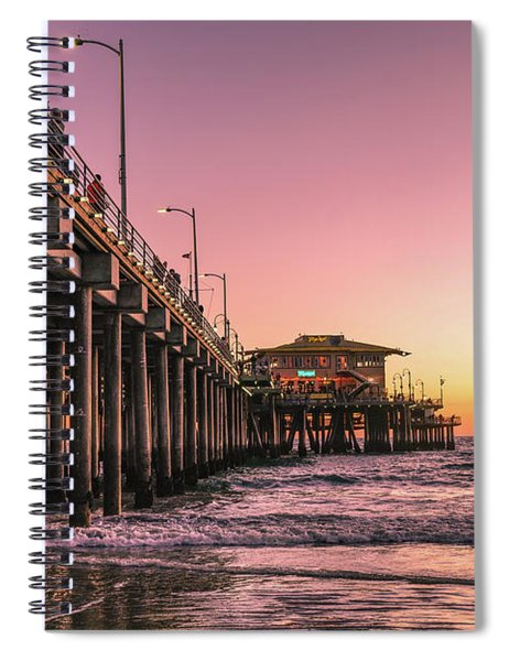 Beside The Pier By Mike-hope Spiral Notebook