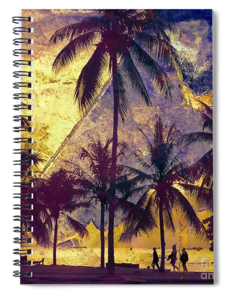 Beside The Sea Spiral Notebook