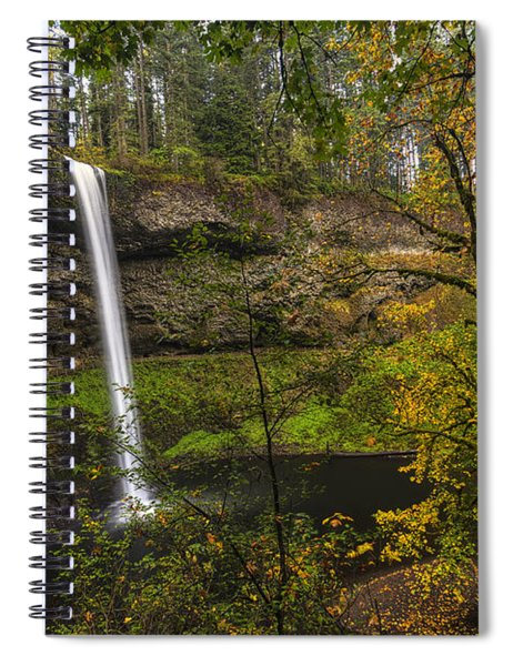 Best Of Silver Falls Spiral Notebook