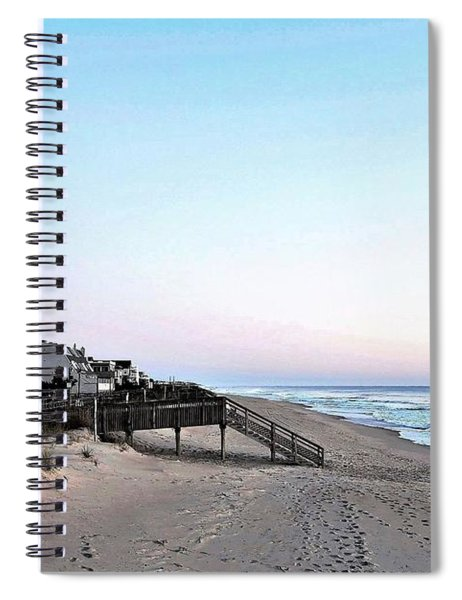 Bethany Beach Morning Spiral Notebook