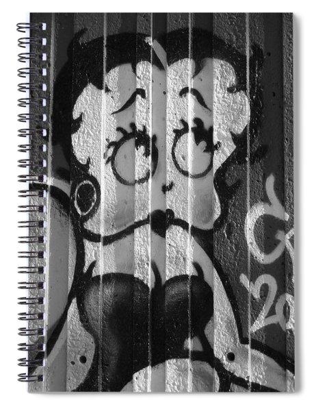 Betty Boop ... Spiral Notebook