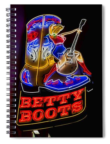 Betty Boots Spiral Notebook