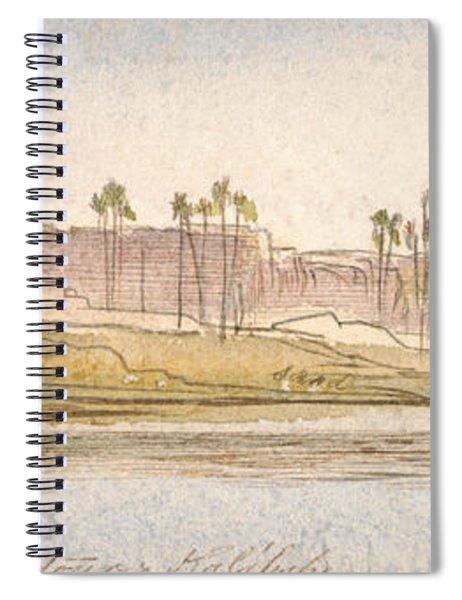 Between Dendour And Kalabshe Spiral Notebook