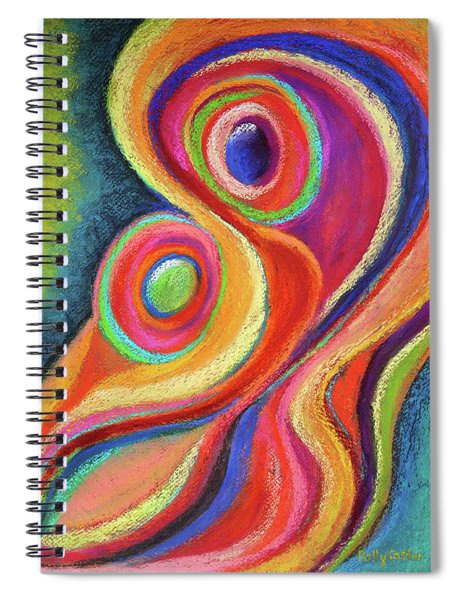 Between Mother And Child Spiral Notebook
