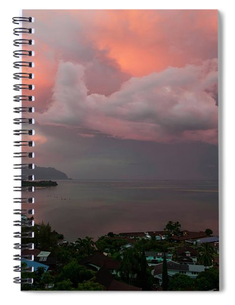 Between Rainstorms Spiral Notebook