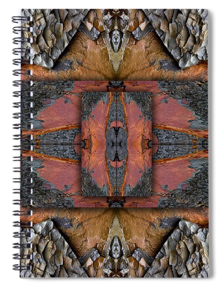 Between Tides Number 1 Square Spiral Notebook