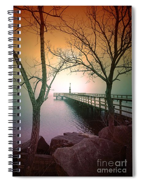 Between Two Trees Spiral Notebook