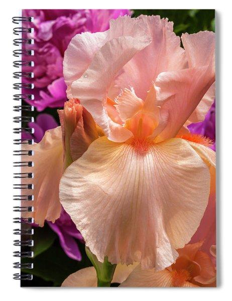 Beverly Sills Iris Spiral Notebook