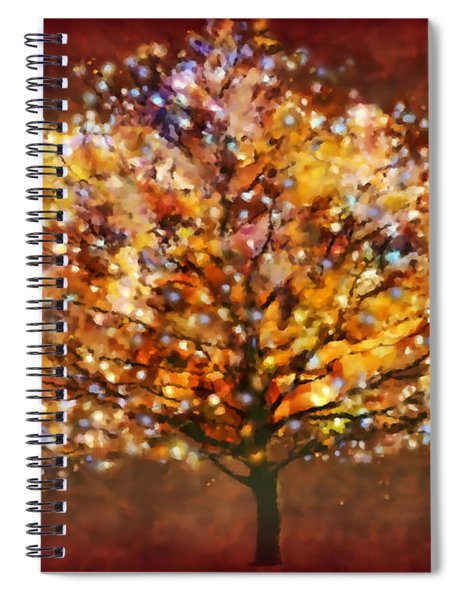 Starry Tree Spiral Notebook