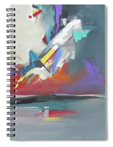 Beyond Reflection Spiral Notebook